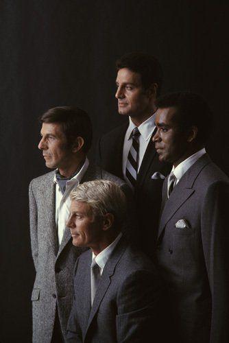"""Mission: Impossible"" the original TV series: Leonard Nimoy, Peter Graves, Peter Lupus, Greg Morris"