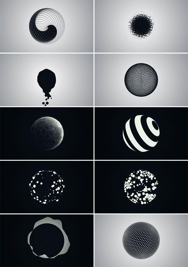 Stunning Experimental Motion Graphics. Motion graphic designer Ion has created this fascinating animation as an experiment to explore different graphical p