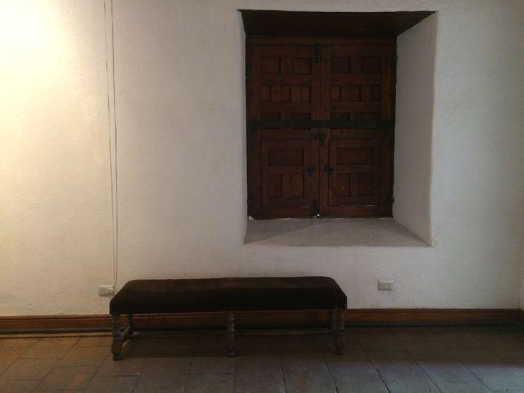 Lobby de la Posada del Corregidor (por Leyla Espinoza)  http://santiagoporconocer.cl/