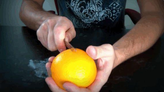 como pelar naranjas 3