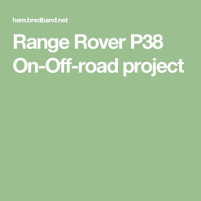 17 Best Ideas About Range Rovers On Pinterest
