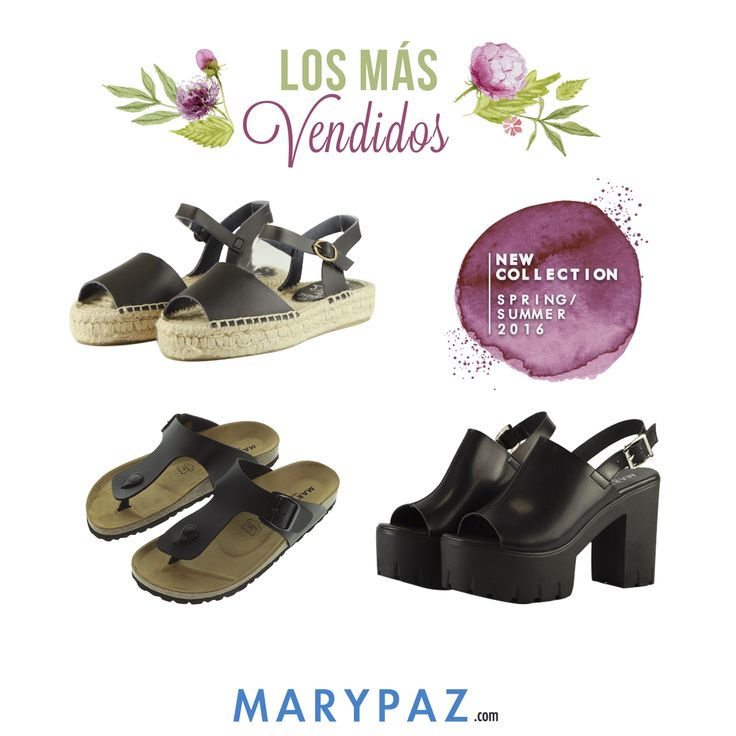 """Esta semana los más vendidos llegan en código """"total black""""  ¡ Variedad de estilos ! ¿Con cuál te quedas ?  Disponibles en tu tienda MARYPAZ más cercana y en la nueva web marypaz.com  #bestoftheweek   Compra ya en nuestra tienda online ► www.marypaz.com"""