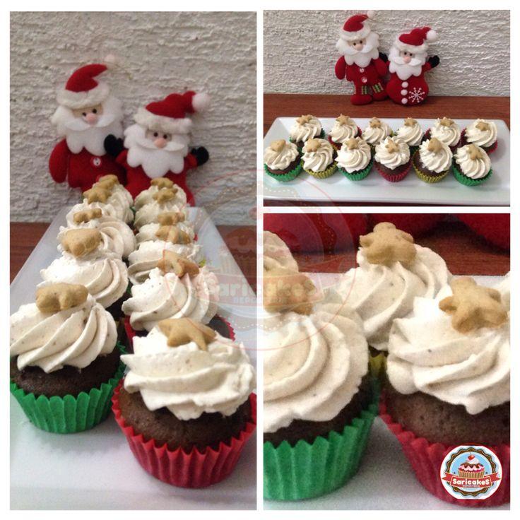 Minicupcakes Navidad