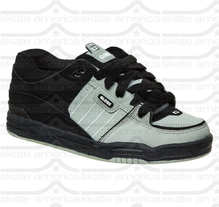 Globe Fusion - Neutral Grey/Black - Skateboard Shoes - Globe - Shoes