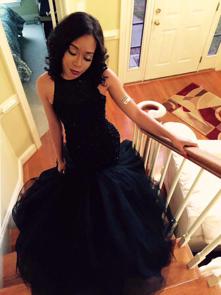 Cute black girl prom dresses