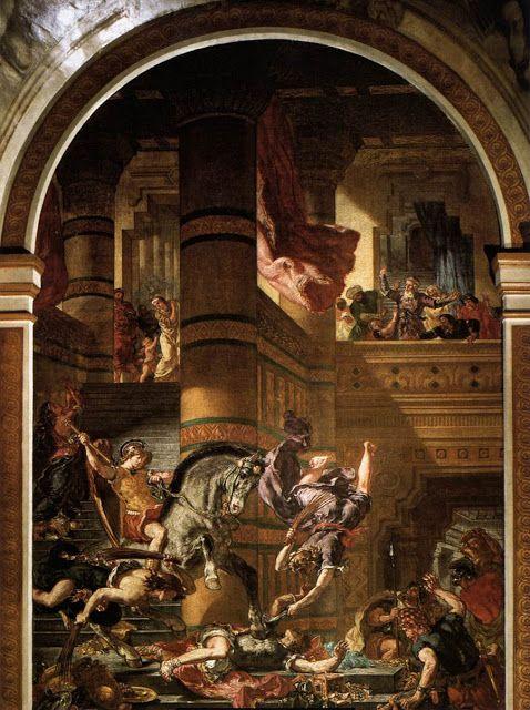 Ο Ηλιόδωρος εκδιώκεται από το ναό (1854-1861)