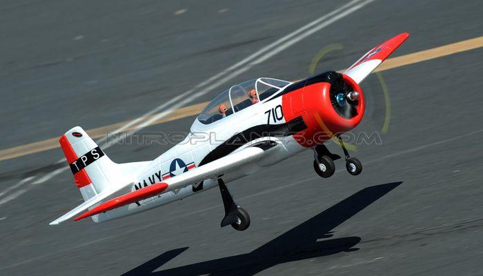 Dynam 5-CH T-28 Trojan 1270mm Remote Control RC Plane RTF