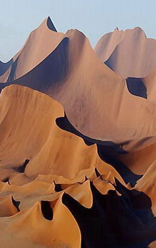Wind Cathedral, Namibia, Africa.