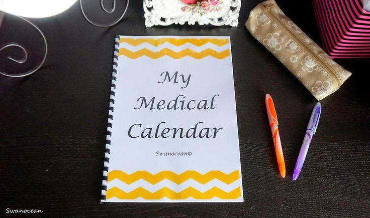 Swanocean: My medical calendar-Το ιατρικό μου ημερολόγιο