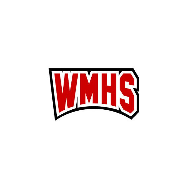 WMHS Tackle Twill Lettering (39 CAD) ❤ liked on Polyvore featuring glee
