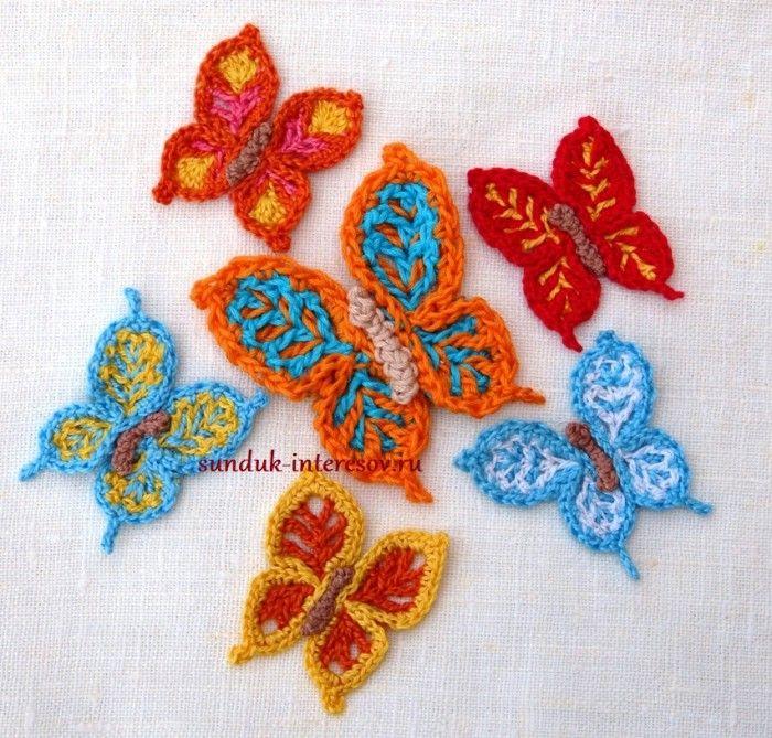 Все бабочки такие разные, а связаны по оной базовой схеме, но с разными вариантами обвязок.