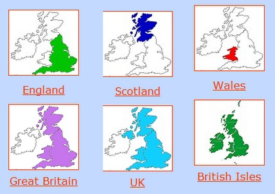 Confused over the difference between UK, Great Britian and Britain?  Hope this helps!