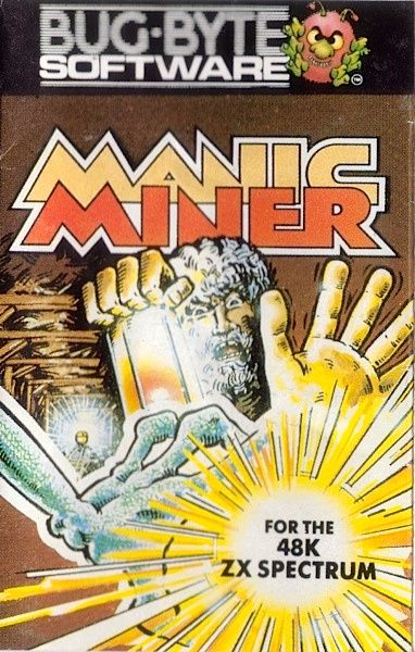 [1983] Manic Miner (Bug-Byte) Manic Miner is a platform video game originally written for the ZX Spectrum by Matthew Smith and released by Bug-Byte in 1983 (later re-released by Software Projects). It is the first game in the Miner Willy series and among the early titles in the platform game genre. >> https://en.wikipedia.org/wiki/Manic_Miner