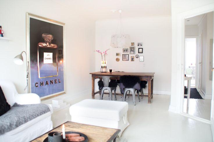 Udlejning af lejlighed - Lys lejlighed i Charlottenlund