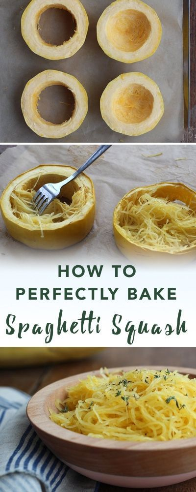 How to bake spaghetti squash | Empowered Sustenance