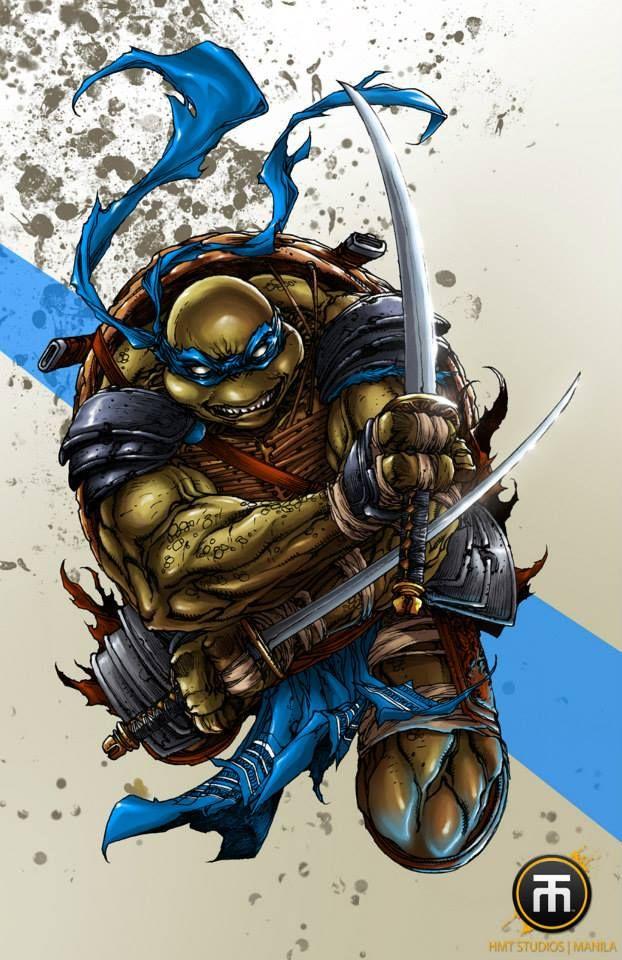 Teenage Mutant Ninja Turtles - Leonardo by Harvey Tolibao * How they Should've looked