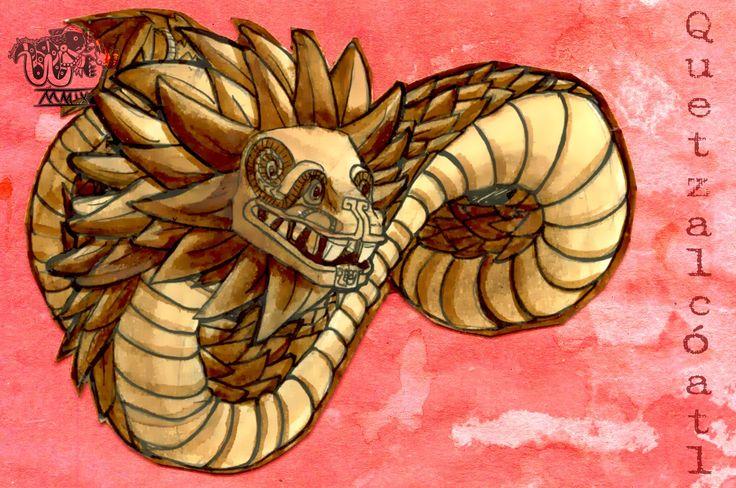 Imagenes de dibujos de quetzalcoatl