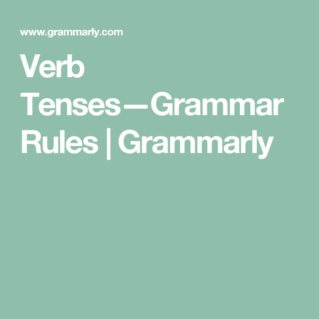 english grammar tenses rules table pdf
