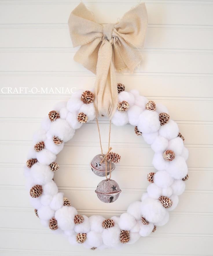 80 besten Christmas Wreath Bilder auf Pinterest | Weihnachten ...