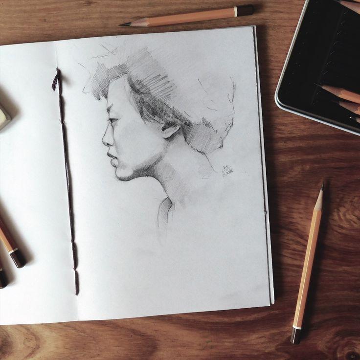 Another face sketch #face #sketch #drawing #sketchbook #pencil #art #miro_z #arts_help #theartslovers #freshart #baigart #artistic_support #instartpics #sketch_daily #juventudartista #art_worldly #artsanity #artist_sharing #art_empire #moanart #art_discover_ #artworksfever #arts_gate #Art_iwork #artists_magazine #dailydrawoff @dailydrawoff #_tebo_ #beautifulbizarre