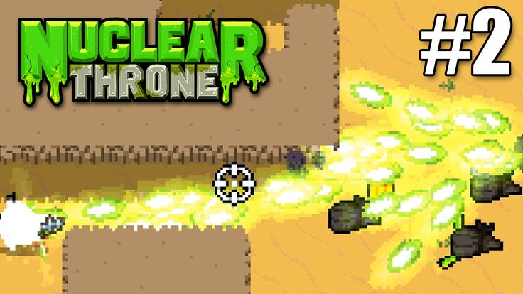 Ahhhh, way too many bullets flying around in my nuclear throne gameplay #2 video.  https://youtu.be/pqUf2gMURYw