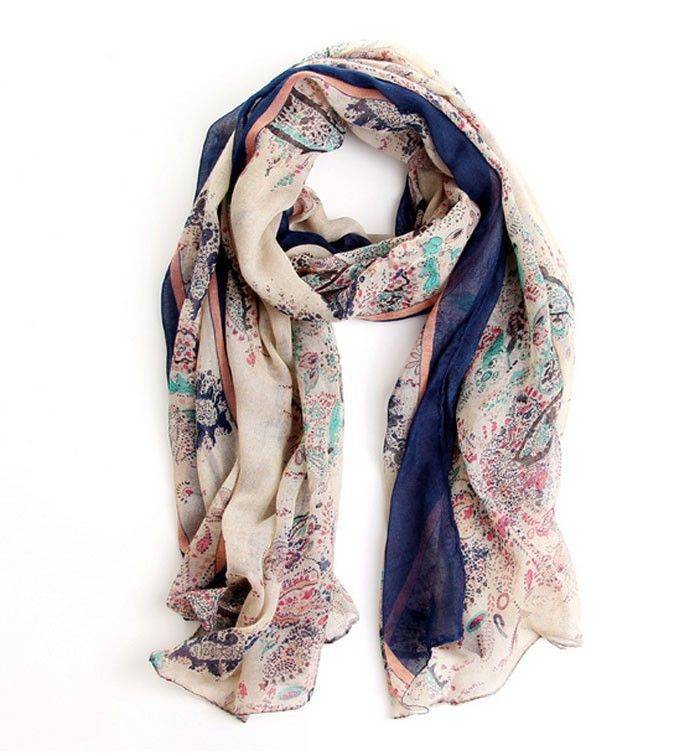 New in our store: Floral Scarf Check it out here! http://www.avenueofangels.com/products/floral-scarf