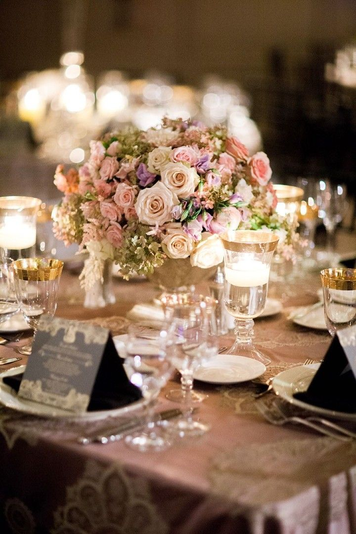 wedding centerpieces; photo: Nancy Aidee Photography