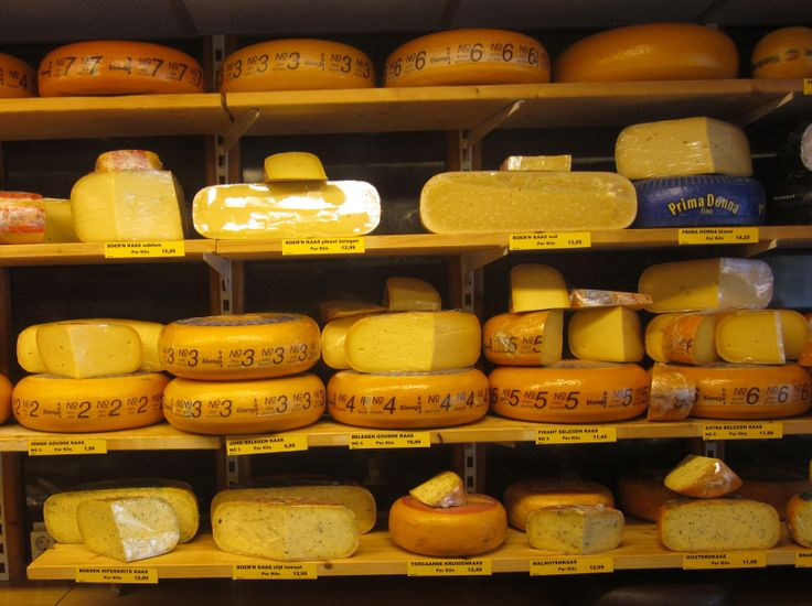 Everyone thinks that every Dutchman likes to eat a lot of cheese. Sometimes Dutch people are therefore called 'cheeseheads' by foreigners.
