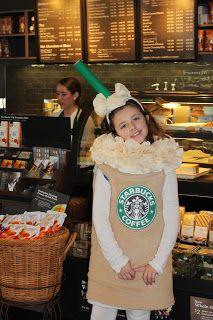 Ever Blooming Originals: Starbucks Costume Halloween Costume at Ever Blooming Originals!