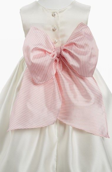 Us Angels Gingham Sash (Toddler Girls) available at #Nordstrom