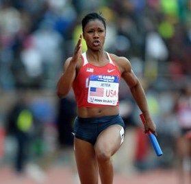 my inspiration: USA Track & Field - Carmelita Jeter