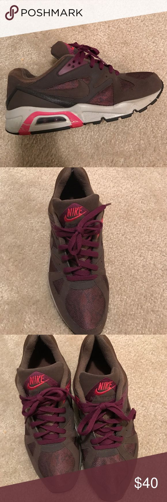 Nike Air Structure Men's size 10 Nike Air Structure. Small crease on sole next to air bubble Nike Shoes Sneakers