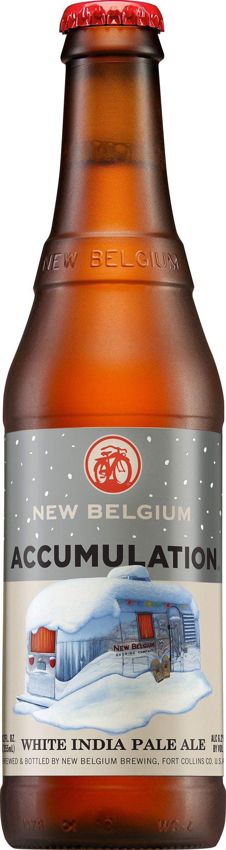 New Belgium Brewings Wintertime Favorite Accumulation White IPA