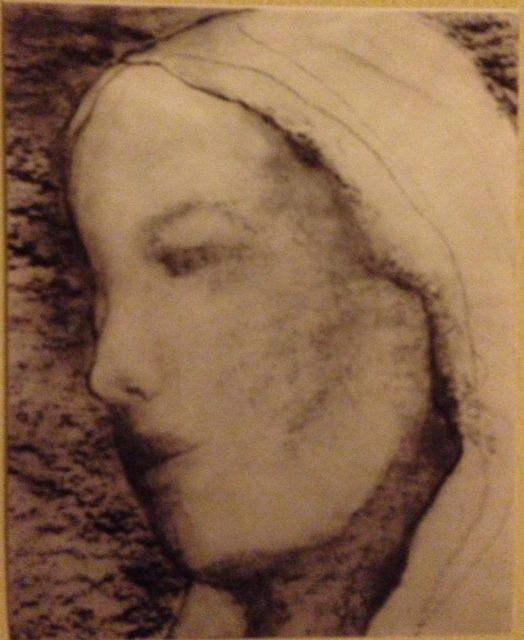 Unknown Miraculous Image. Has anyone seen this image of Mother Mary before? FYI: my sister purchased a cookbook at a second hand store many years ago. Thumbing through the pages, she found this image of Mother Mary. Does anyone know anything about this image? We appreciate any information you may have. Thank you and God bless!