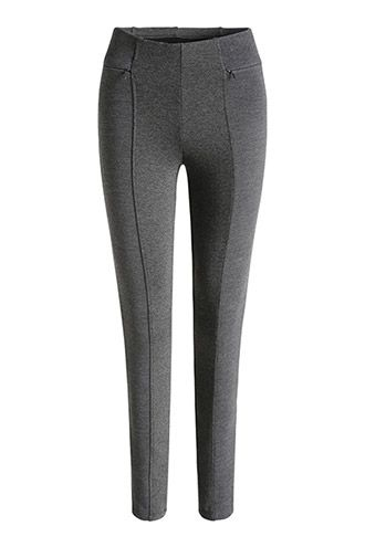 Esprit / Feste Jersey-Leggings mit Zier-Zippern
