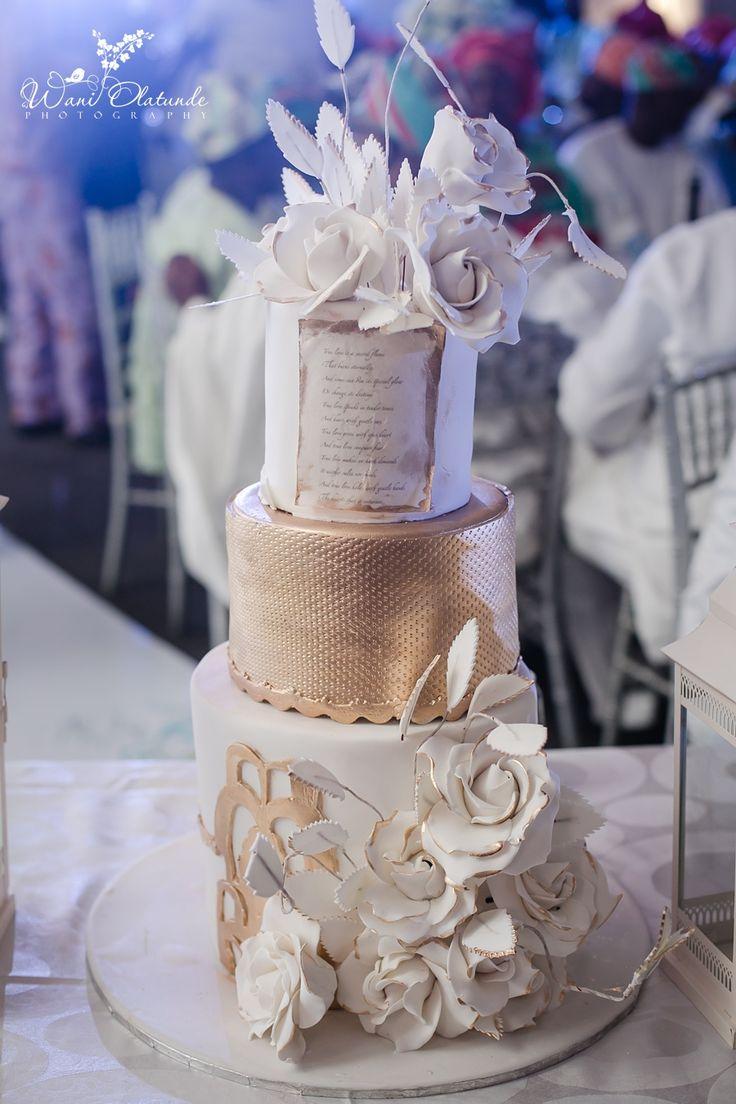 Beautiful Traditional Yoruba Wedding | Aisle Perfect: http://aisleperfect.com/2016/03/traditional-yoruba-wedding.html #wedding #cake