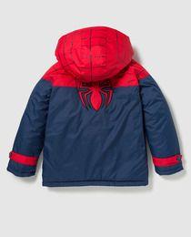 Chubasquero de niño Disney de Spiderman en azul marino