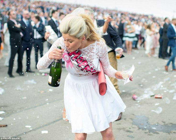 ladies day at aintree draws to a close home wedding