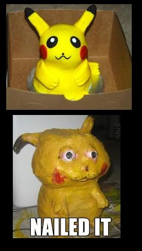 That Pikachu needs to go to the animal hospital.