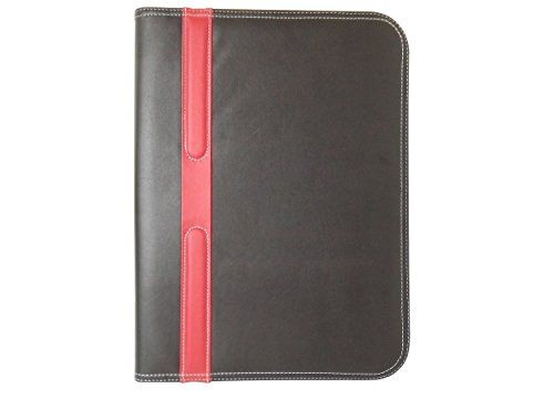 Leather Portfolio Binder From BARKOD3 Offers Portable Light Weight Case Designed To Keep Items Documents Secure With Zipper Closure, Like Folders & Binders This Product Also Features Multiple Pockets Notepad & Pen Holder ipad/Tablet Slot, Experience The Business Feel With Style & Comfort Now! BARKOD3 http://www.amazon.com/dp/B0111RVJKK/ref=cm_sw_r_pi_dp_14Pmwb1EQ7KBS