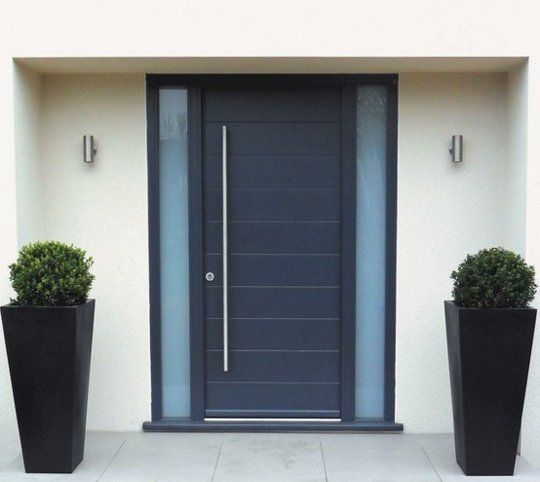 modern wooden front door. modern front doors for homes with glass ...