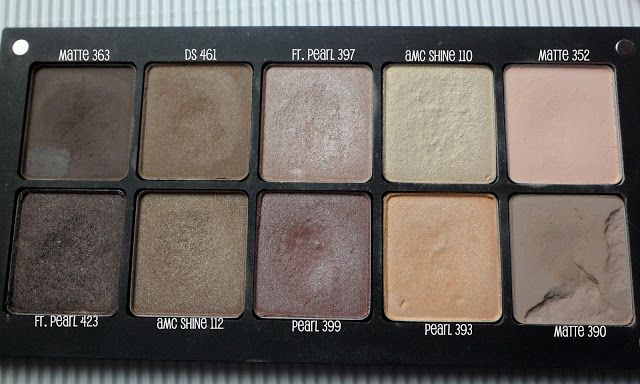 Atqa Beauty Blog | atqabeauty.com: Makijaż :: Opętana przez cienie Inglota