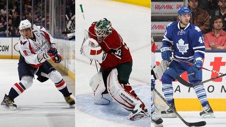 Alex Ovechkin, Niklas Backstrom, Nazem Kadri NHL's 3 stars - http://f3v3r.com/2013/03/25/alex-ovechkin-niklas-backstrom-nazem-kadri-nhls-3-stars/