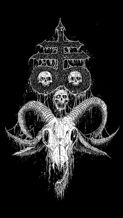 Leviathan Cross + Satanic Goat