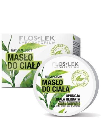 Floslek NATURAL BODY Masło do ciała Opuncja & Biała herbata