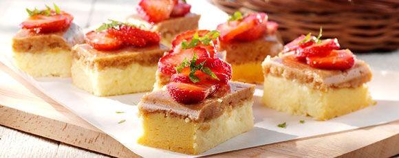 Cheesecake van witte chocolade en aardbeien | Leef lekker