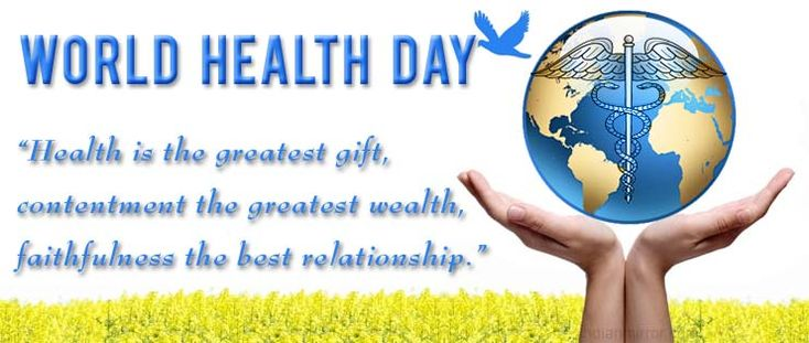 Let us pledge to stay healthy.