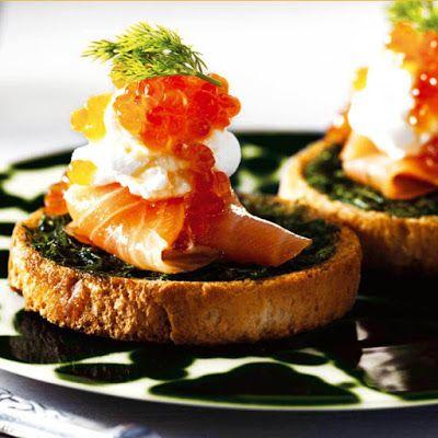 Tapas danoise - Recettes de cuisine faciles et simples | Recettee