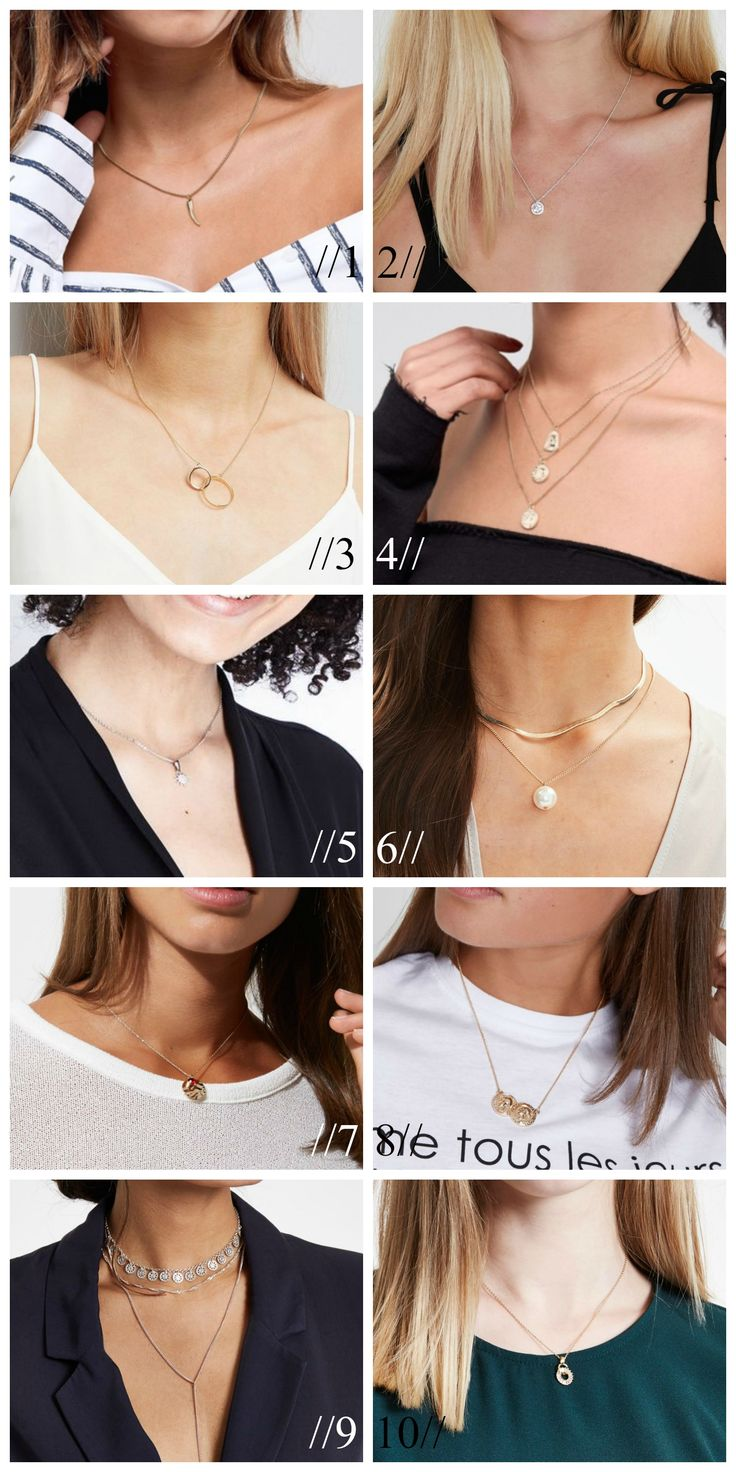 10 NECKLACES UNDER 10 POUNDS // Fashion on a Budget, Fashion Inspiration, Silver Necklace, Gold Necklace, River Island, New Look, ASOS, Fashion Blogger, Fashion Blog, Style Inspiration, Style Ideas, Fashion Ideas, Style Blogger, Style Blog // simonehjulmand.com