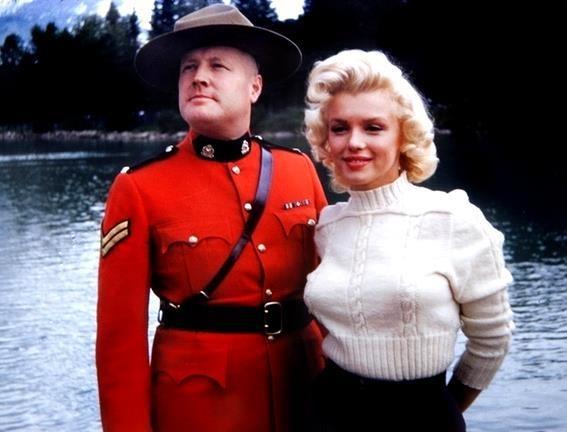 Marilyn & Canadian Mountie